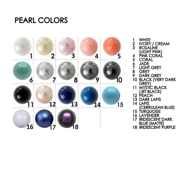 10mm pearl color chart