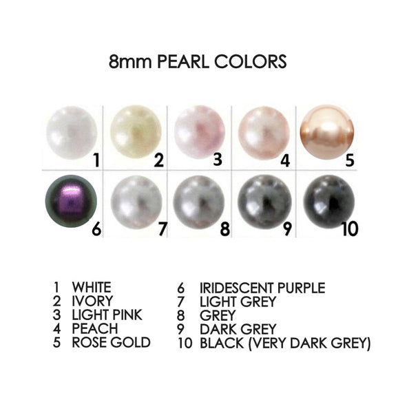 8mm swarovski pearl color chart