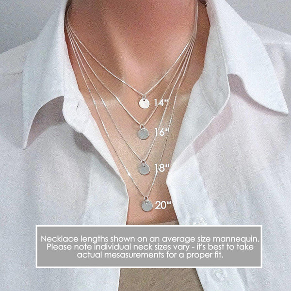 necklace sizing guide