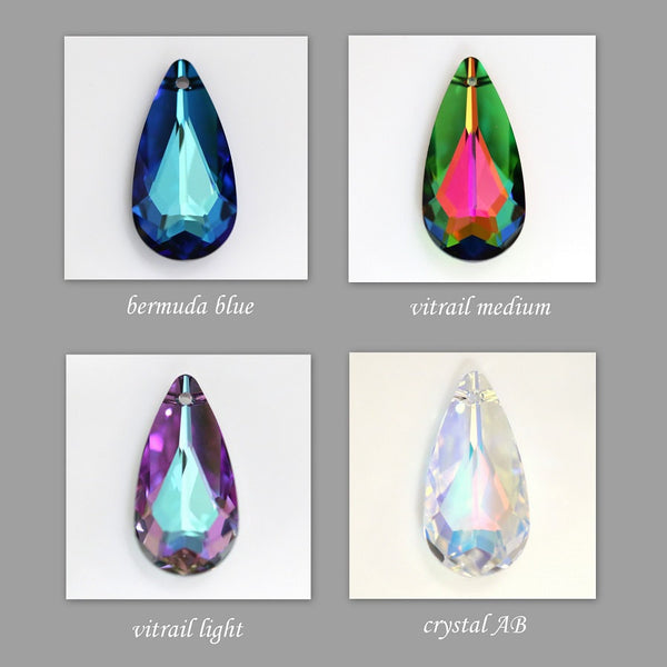 drop crystal color chart
