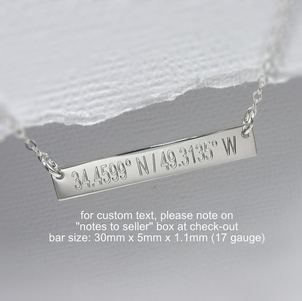 Engraved / Hand-stamped Jewelry