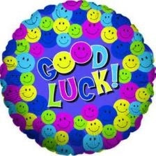 "18"" GOOD LUCK FOIL BALLOON (394)"