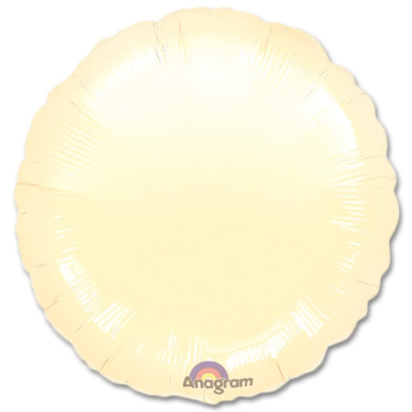 "18"" SOLID COLOR CIRCLE FOIL BALLOON"