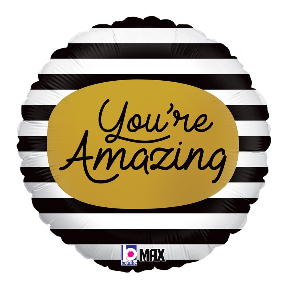 "18"" YOU'RE AMAZING FOIL BALLOON (436)"