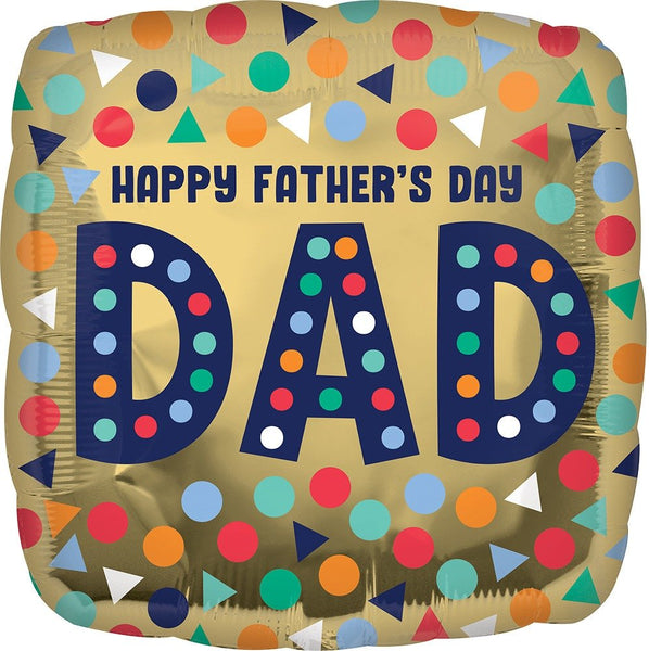 "18"" HFD DAD FOIL BALLOON (62)"