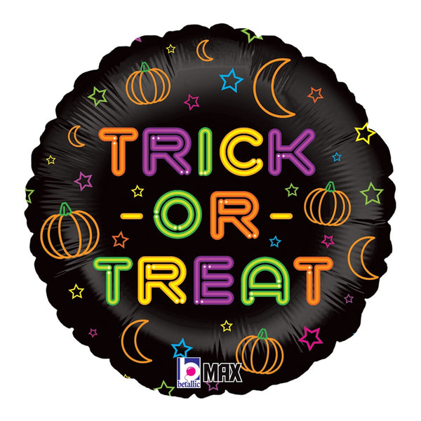 "18"" Neon Trick Or Treat (252)"