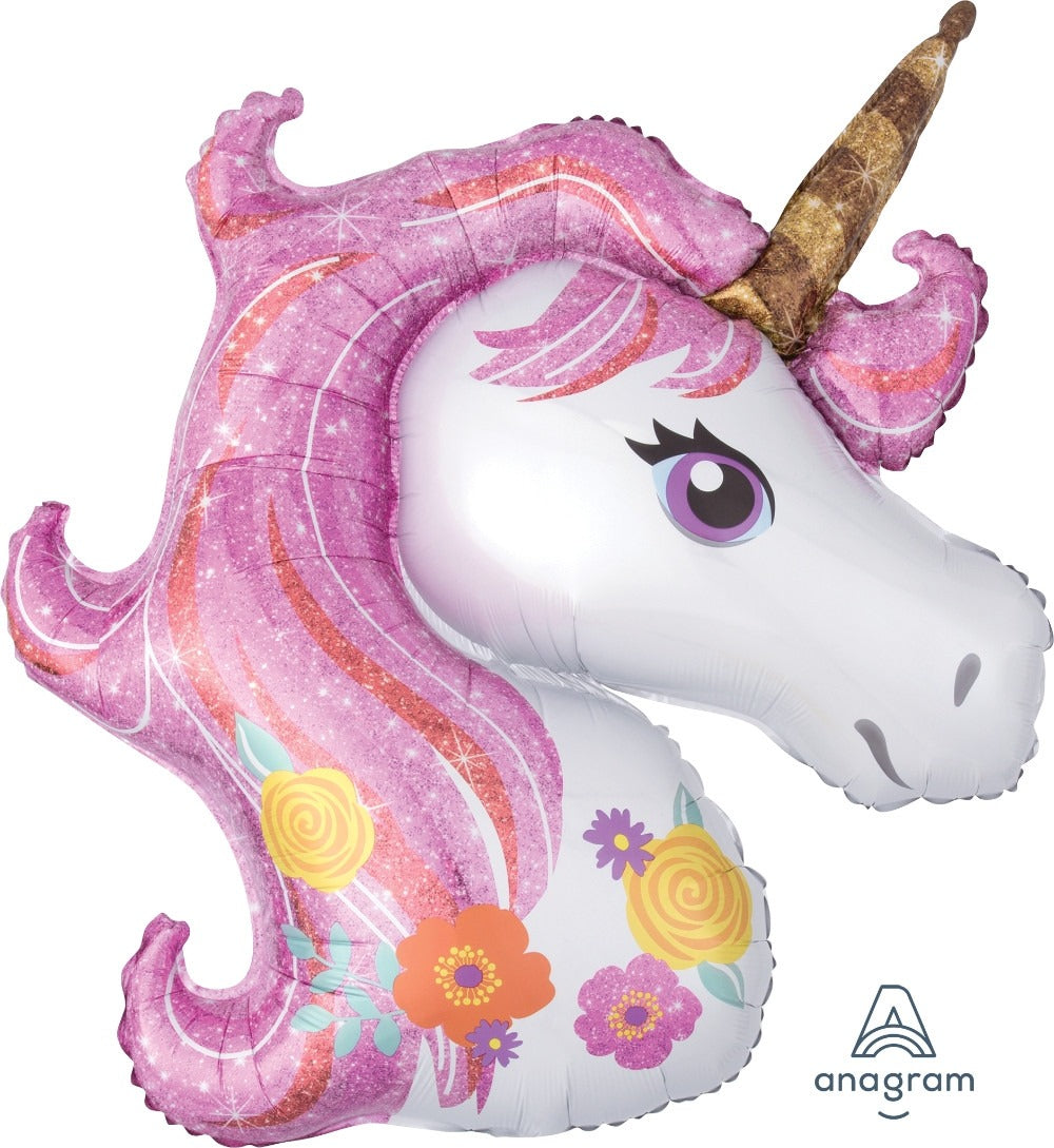 "33"" MAGICAL UNICORN FOIL BALLOON (30)"