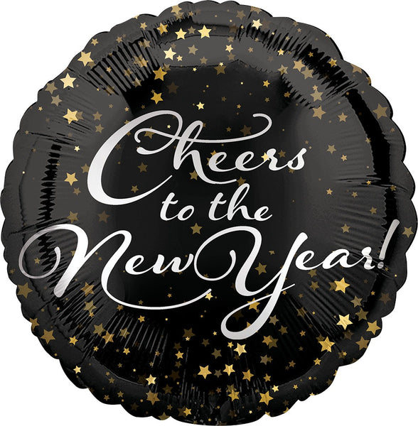 "18"" NEW YEAR CHEERS FOIL BALLOON (239"