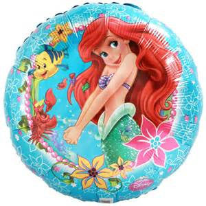"18"" ARIEL UNDER THE SEA FOIL BALLOON (27)"