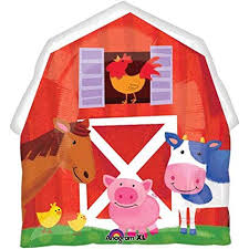 "32"" CELEBRATE BARN PARTY FOIL BALLOON (119)"