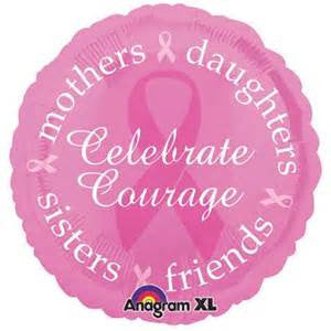 "18"" BREAST CANCER AWARENESS FOIL BALLOON (188)"