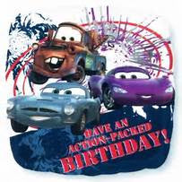 "18"" CARS ACTION PACKED BDAY FOIL BALLOON (345)"