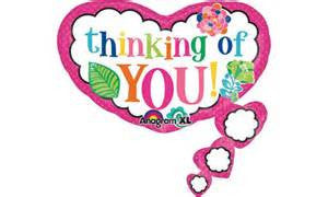 "26"" COLORFUL THINKING OF YOU FOIL BALLOON (280)"