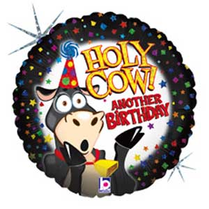 "36"" HOLY COW FOIL BALLOON (590)"