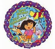 "18"" DORA THE EXPLORER BDAY FOIL BALLOON (358)"