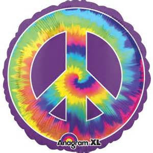 "32"" FEELING GROOVY PEACE FOIL BALLOON (273)"
