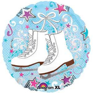 "18"" ICE SKATES FOIL BALLOON (373)"