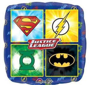 "18"" JUSTICE LEAGUE FOIL BALLOON (148)"