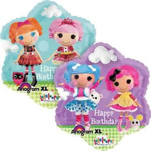 "18"" LALALOOPSY HAPPY BDAY FOIL BALLOON (84)"