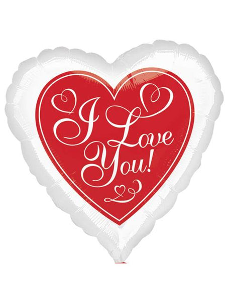 "18"" I LOVE YOU HEARTS FOIL BALLOON (326)"