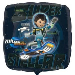 "18"" MILES FROM TOMORROWLAND FOIL BALLOON (370)"
