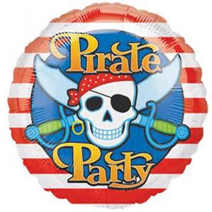 "18"" PIRATE PARTY FOIL BALLOON (90)"