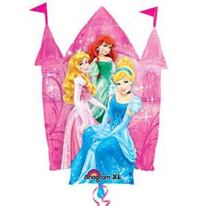 "35"" PRINCESS CASTLE SHAPE FOIL BALLOON (100)"