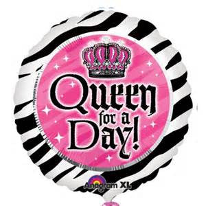 "18"" QUEEN FOR A DAY FOIL BALLOON (123)"