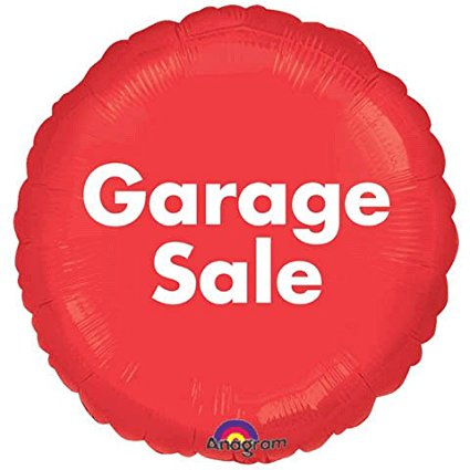 "18"" GARAGE SALE FOIL BALLOON (194)"