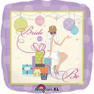 "18""  SHOWER CHIC BRIDE FOIL BALLOON (153)"