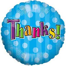 "18"" THANK YOU FOIL BALLOON (44)"