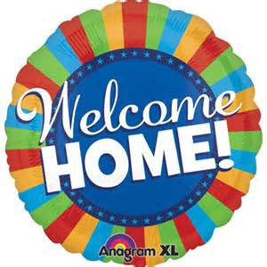 "32"" WELCOME HOME BLITZ JUMBO FOIL BALLOON (263)"