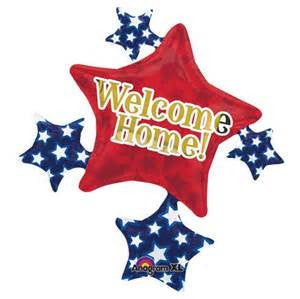 "35"" WELCOME HOME STAR CLUSTER FOIL BALLOON (265)"