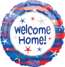 "18"" WELCOME HOME FOIL BALLOON (393)"