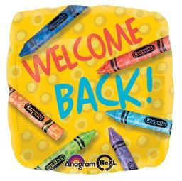 "18"" WELCOME BACK FOIL BALLOON (610)"
