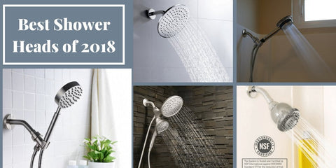 Best Shower Heads of 2018: List of the Top Showerheads of the Year