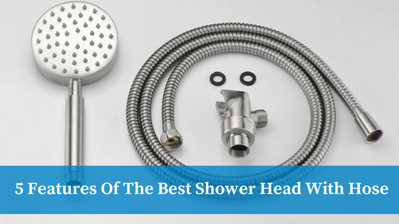 Best Shower Head With Hose