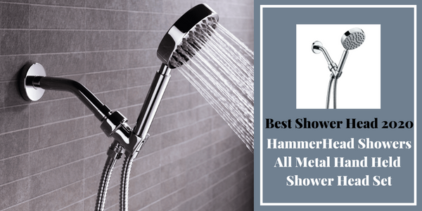 HammerHead Showers Best Shower Head of 2020 Metal Hand Held ShowerHead