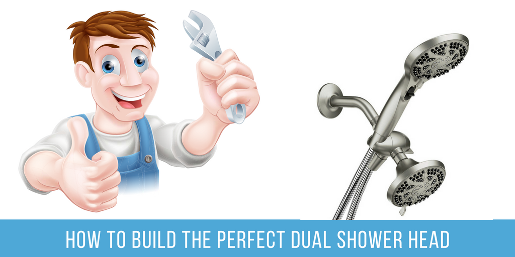 How To Build Your Own DIY Dual Shower Head
