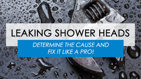 Leaking Shower Head: How To Determine the Cause and Fix It Like a Pro!