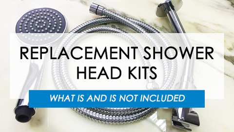 Replacement Shower Head - Shower Head Kits - What Is and Is Not Included | The Shower Head Store