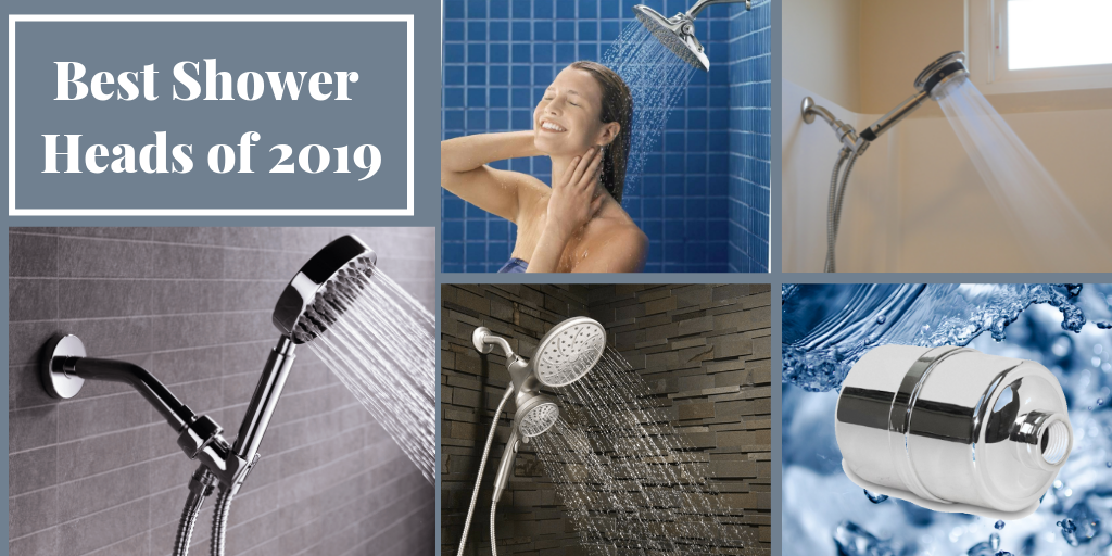 Top 5 Best Shower Head of 2019 Full Chart with List of Best Shower Heads