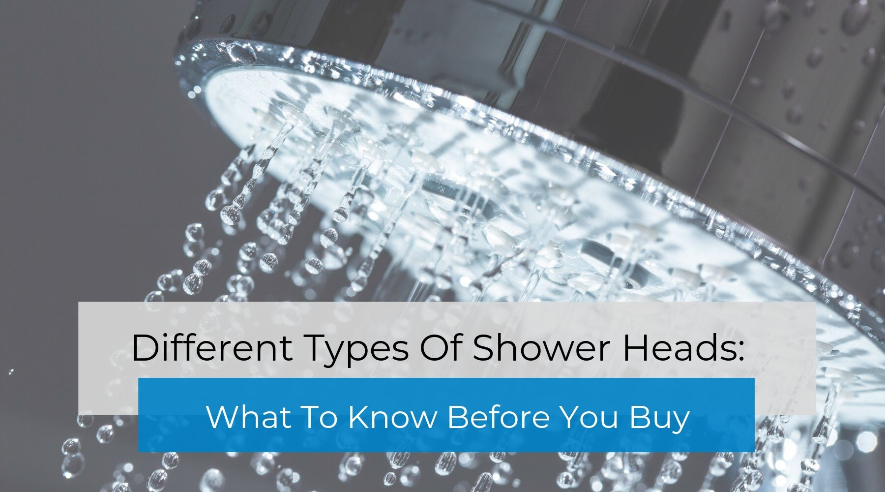 Different Types Of Shower Heads: What To Know Before You Buy   The