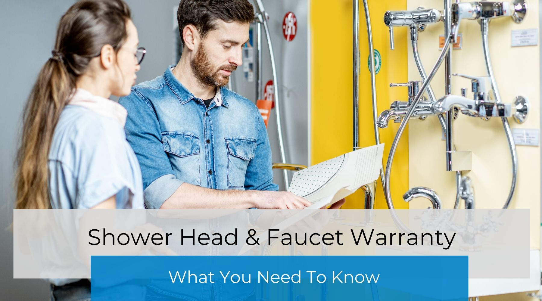 Image result for what kind of warranty does a faucet have?