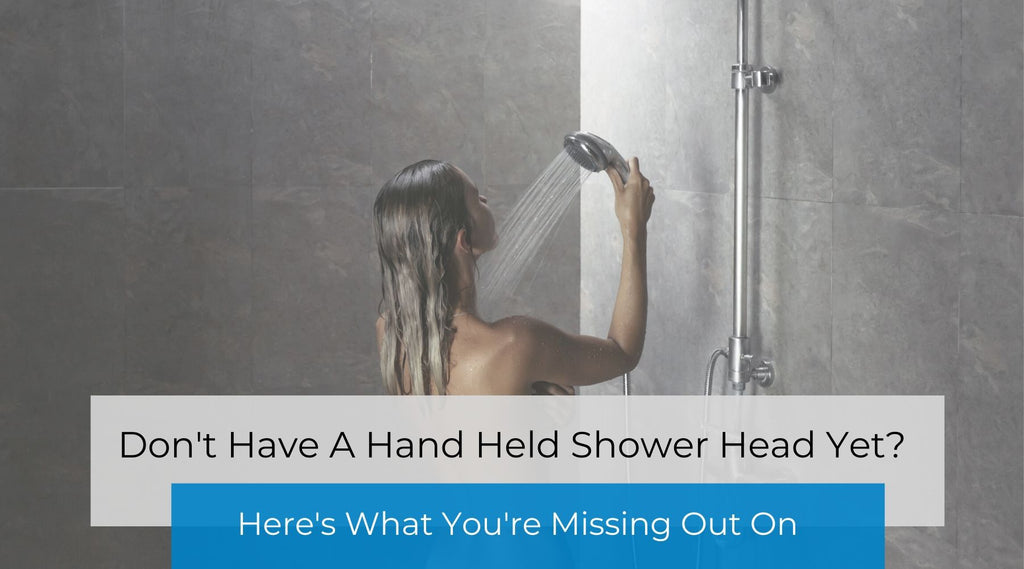 Seriously Ladies, Why Don't You Have a Hand Held Shower Head?