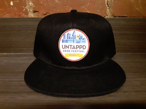 Untappd Beer Festival Badge Snapback Hat