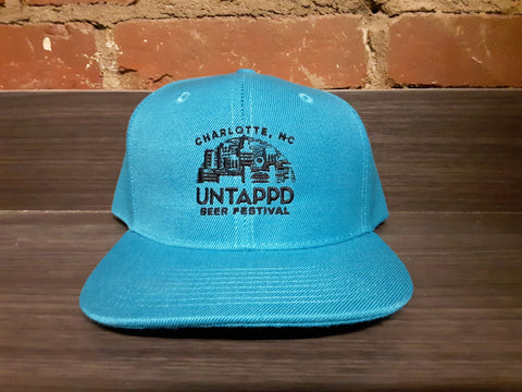 Turquoise Untappd Beer Festival Logo Hat