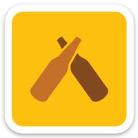 Untappd Icon Sticker