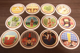 Badges Coaster Variety Pack