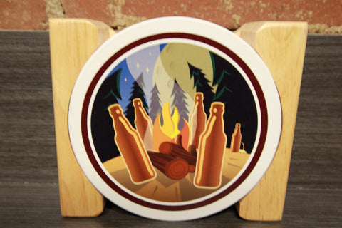 "Untappd ""Venue - Volume 2"" Badges Stone Coaster Set"